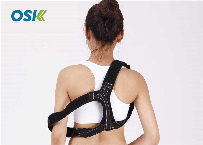 Upper Back Expandable Posture Support Band For Hunched Shoulders S / M / L Sizes